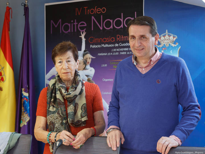 Guadalajara celebra el IV Trofeo Maite Nadal de Gimnasia Rítmica