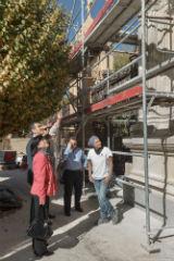 El Ayuntamiento restaura la reja y las puertas de acceso al parque de Adoratrices