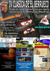 Los coches de la IV Clásica de El Berrueco pararan el sábado 25 de octubre en Jadraque