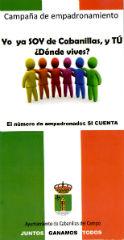El Ayuntamiento de Cabanillas lanza una campaña de empadronamiento bajo el lema 'Juntos ganamos todos'