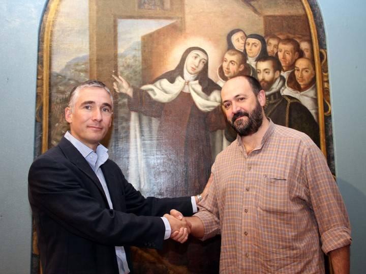 Primer paso del futuro Museo V Centenario de Santa Teresa de Pastrana