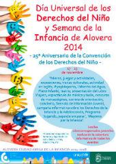 Alovera celebrará el Día de los Derechos del Niño y la Semana de la Infancia con una intensa programación