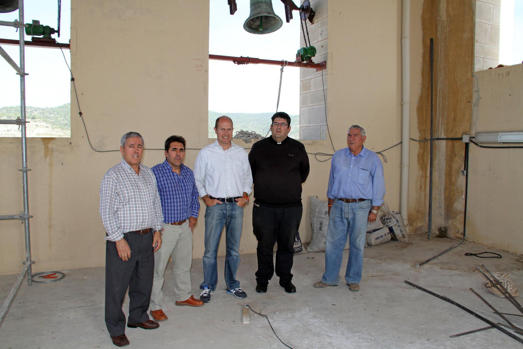 Pareja culmina la restauración de la Iglesia de la Asunción