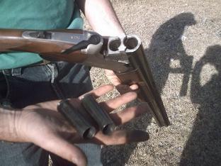 Herido con una escopeta de caza en Valdenoches