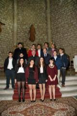 Pareja recibió la visita del obispo de la diócesis Sigüenza-Guadalajara, Atilano Rodríguez