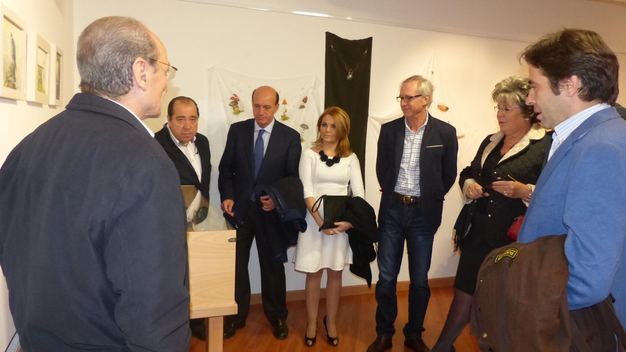 Inaugurada en el Centro San José una exposición de pintura sobre 'Vida silvestre'