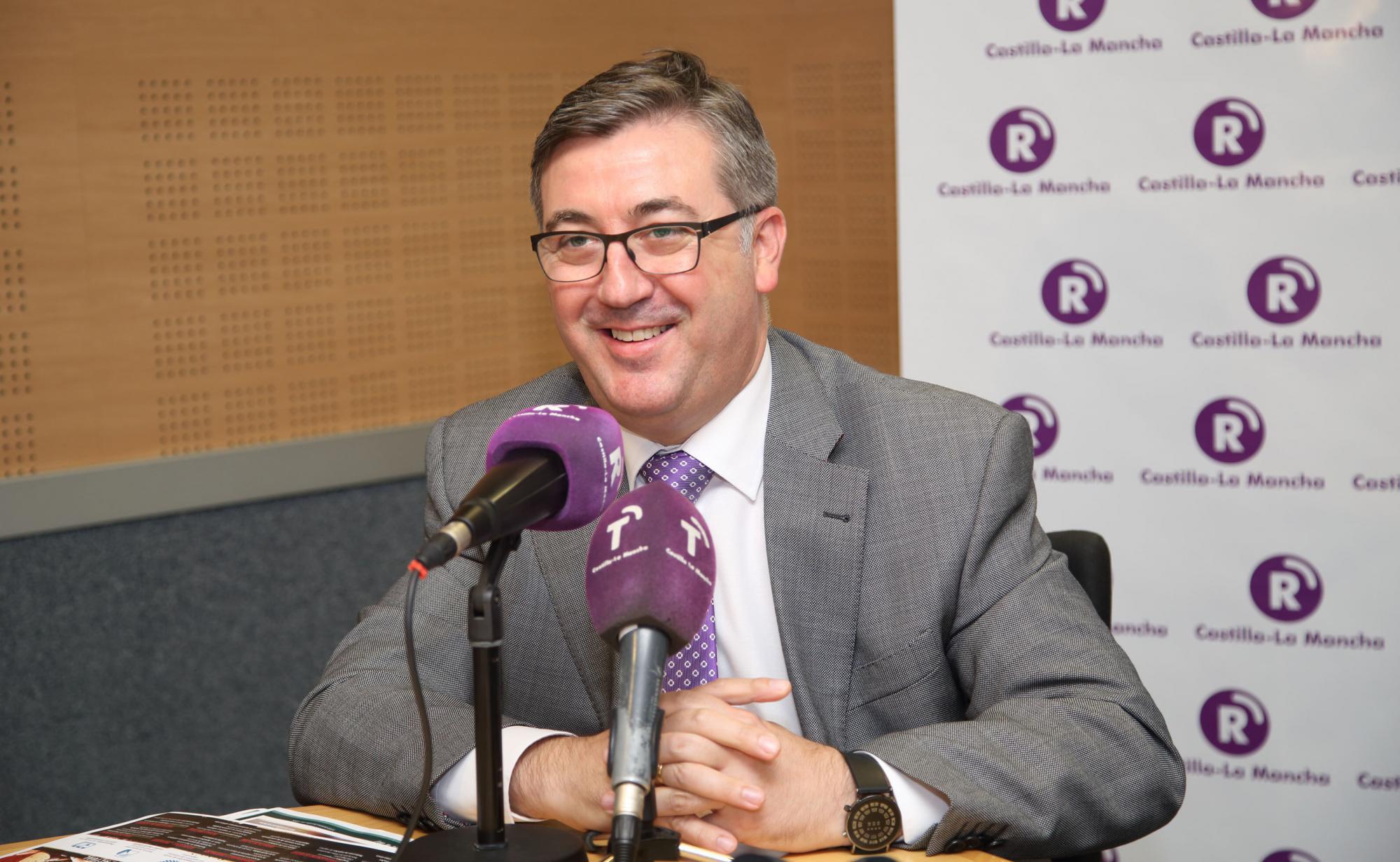 El consejero Marín defiende el Anteproyecto de Ley de la Actividad Física y el Deporte de Castilla La Mancha