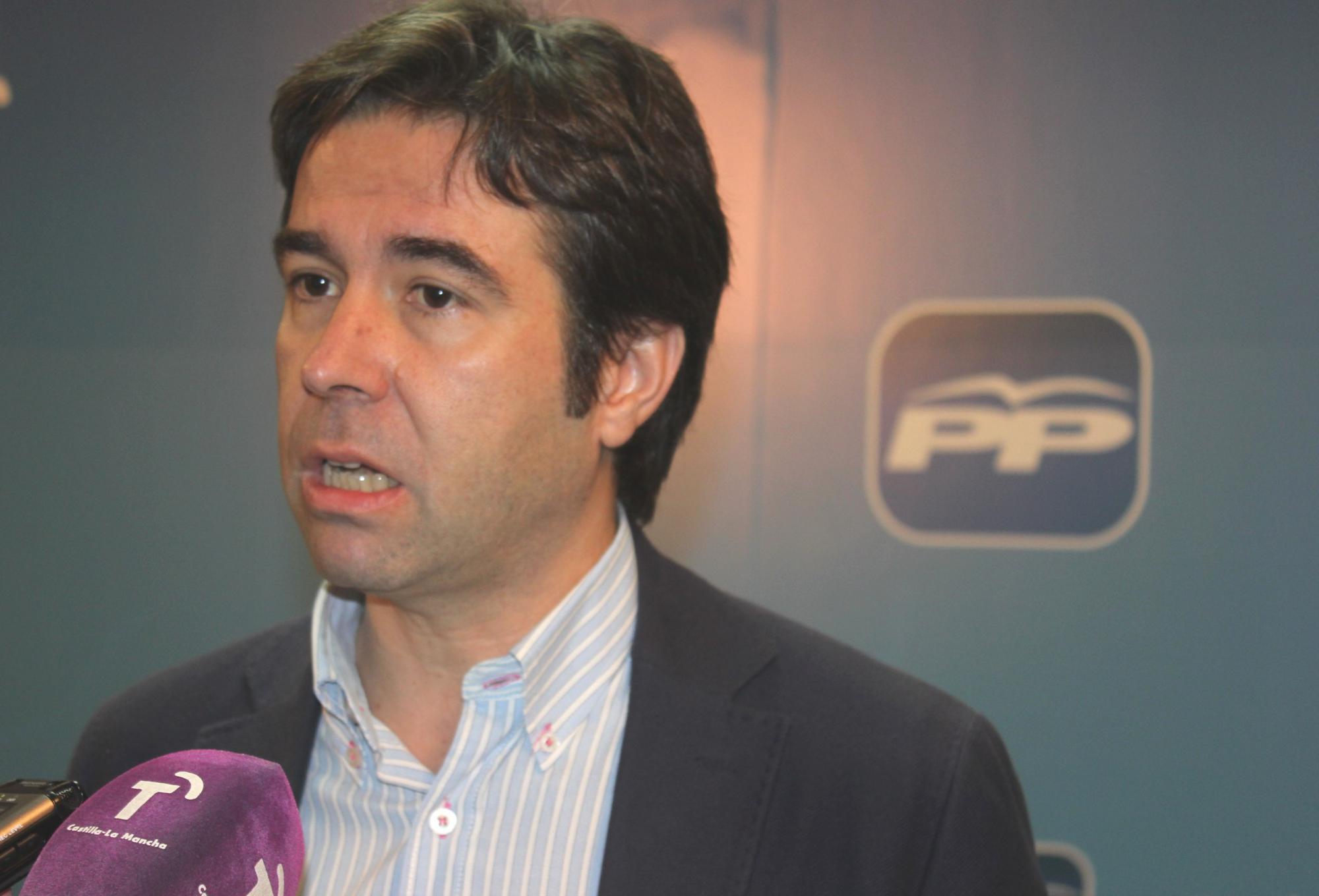 """Robisco: """"Ningún político de Castilla-La Mancha le llega a la suela de los zapatos a la Presidenta Cospedal en eficacia, gestión responsable y honradez"""" ·"""