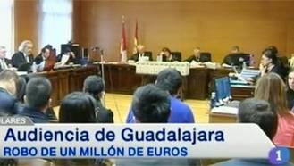Penas de entre año y medio y 14 años de prisión para 5 ciudadanos chinos implicados en el robo del millón de euros en Guadalajara