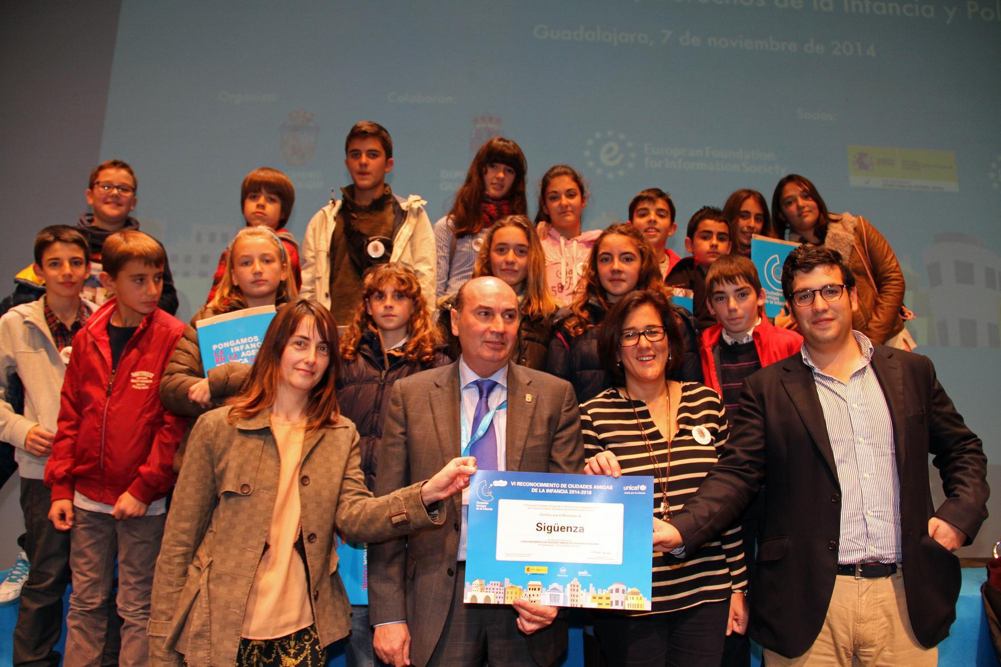 Sigüenza ya es Ciudad Amiga de la Infancia de UNICEF