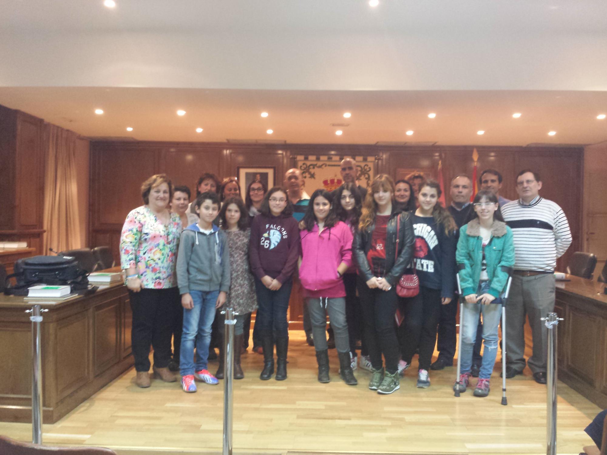El Ayuntamiento de Alovera acogió la segunda reunión del Consejo de Infancia