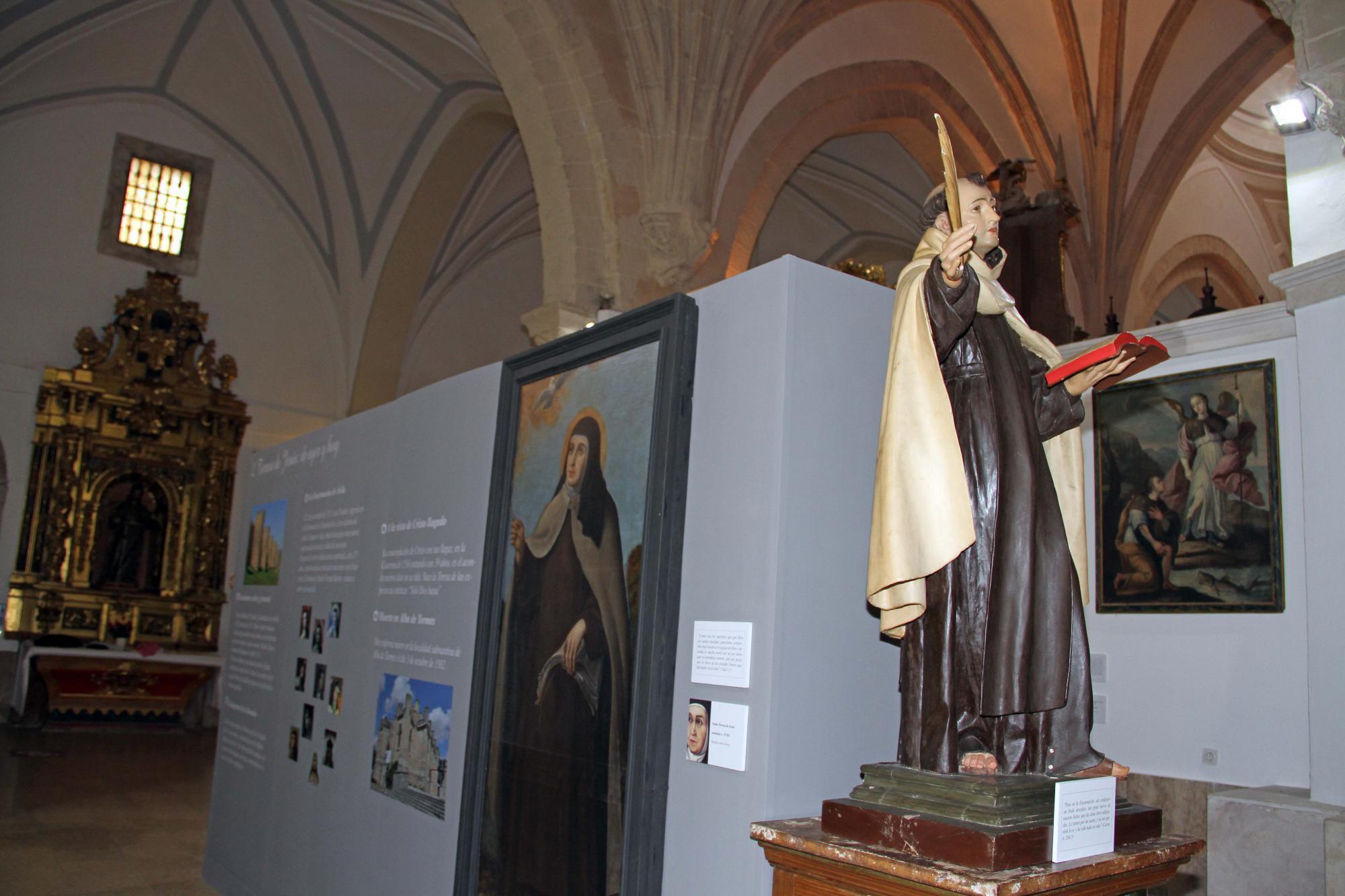 La Colegiata de Pastrana acoge una exposición sobre Santa Teresa