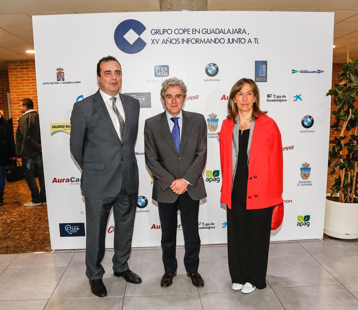 El Ejecutivo regional recibe el reconocimiento de COPE Guadalajara por las reformas impulsadas en lo que va de legislatura