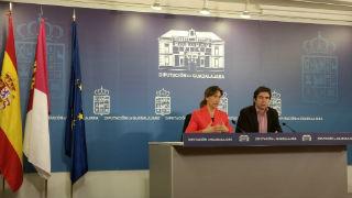La presidenta de la Diputación anuncia una importante bajada de la tasa de recaudación a los ayuntamientos