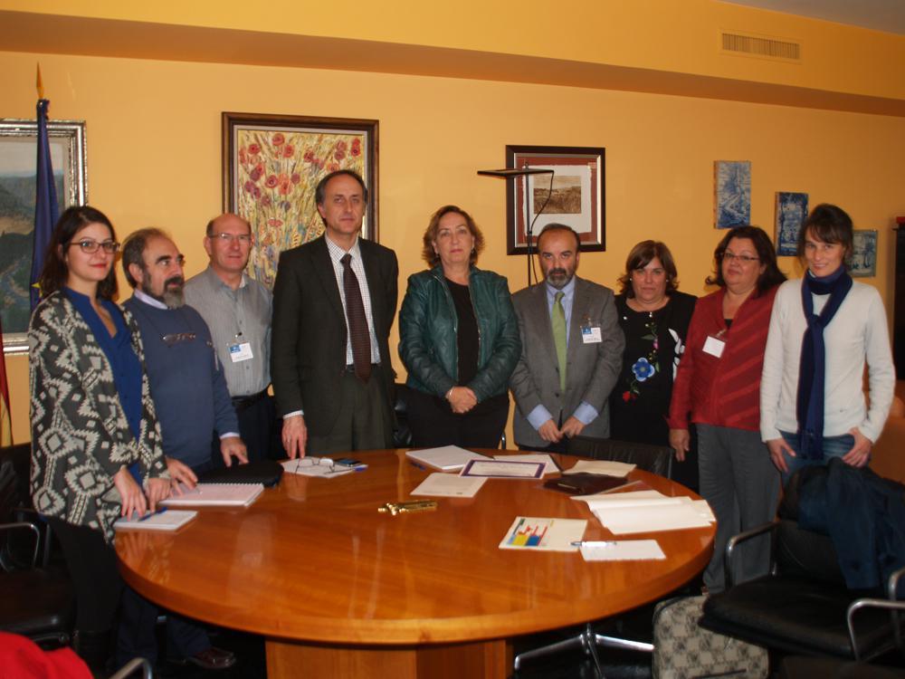 El Geoparque de la Comarca de Molina traslada sus necesidades a la consejera de Agricultura