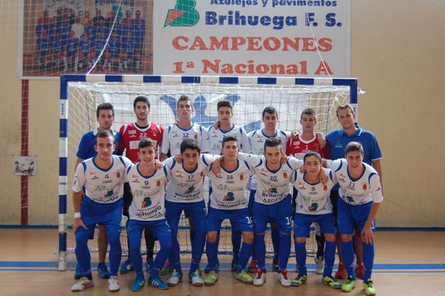 Al Brihuega Juvenil se le escapa el partido al final contra el Inter Movistar