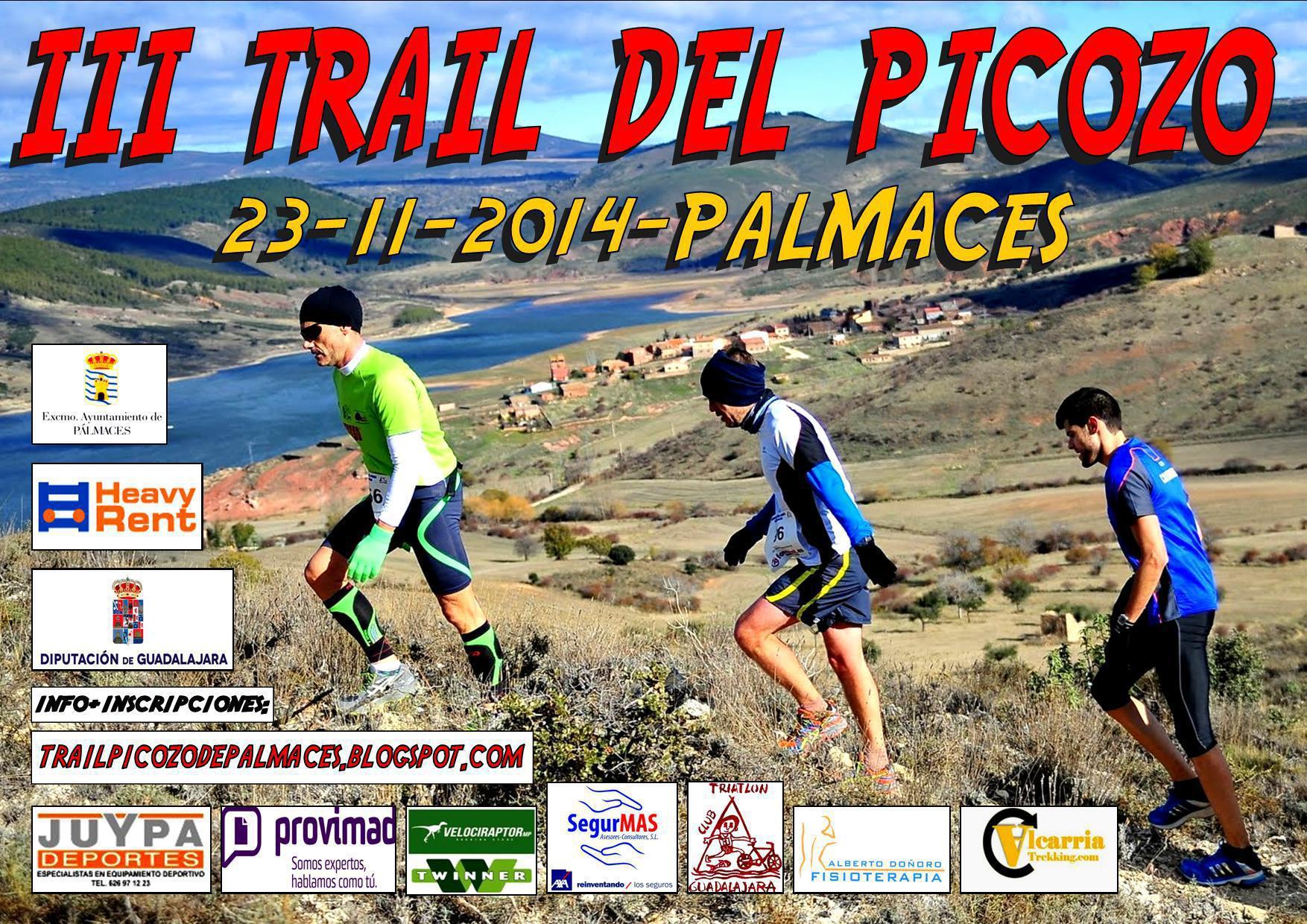 Pálmaces organiza este domingo 23 la tercera edición del Trail del Picozo
