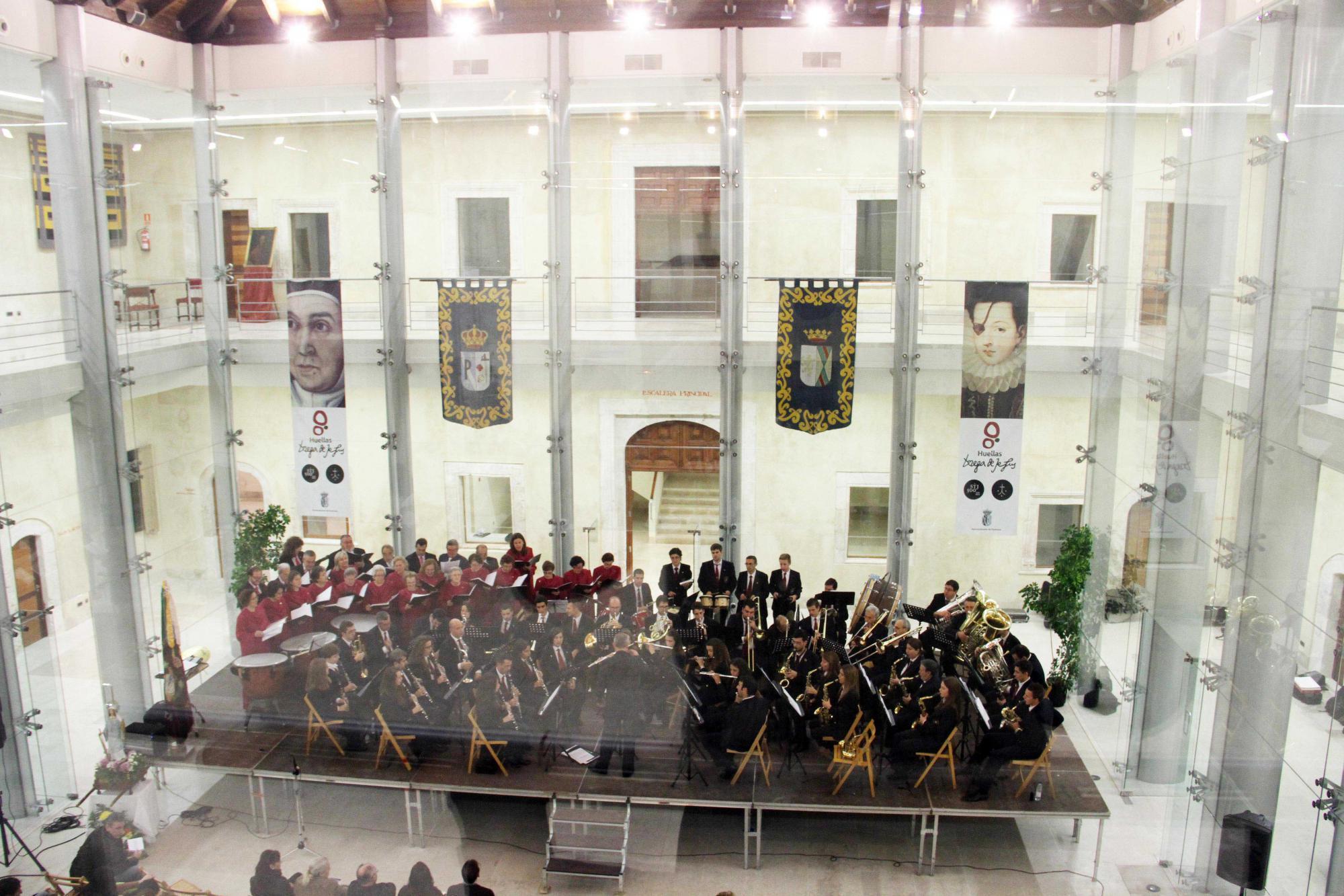 Pastrana celebra el día de Santa Cecilia, patrona de los músicos