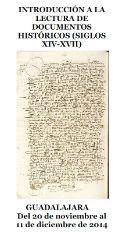 """El Archivo Histórico Provincial organiza el curso """"Introducción a la lectura de documentos históricos (Siglo XIV-XVII)"""""""