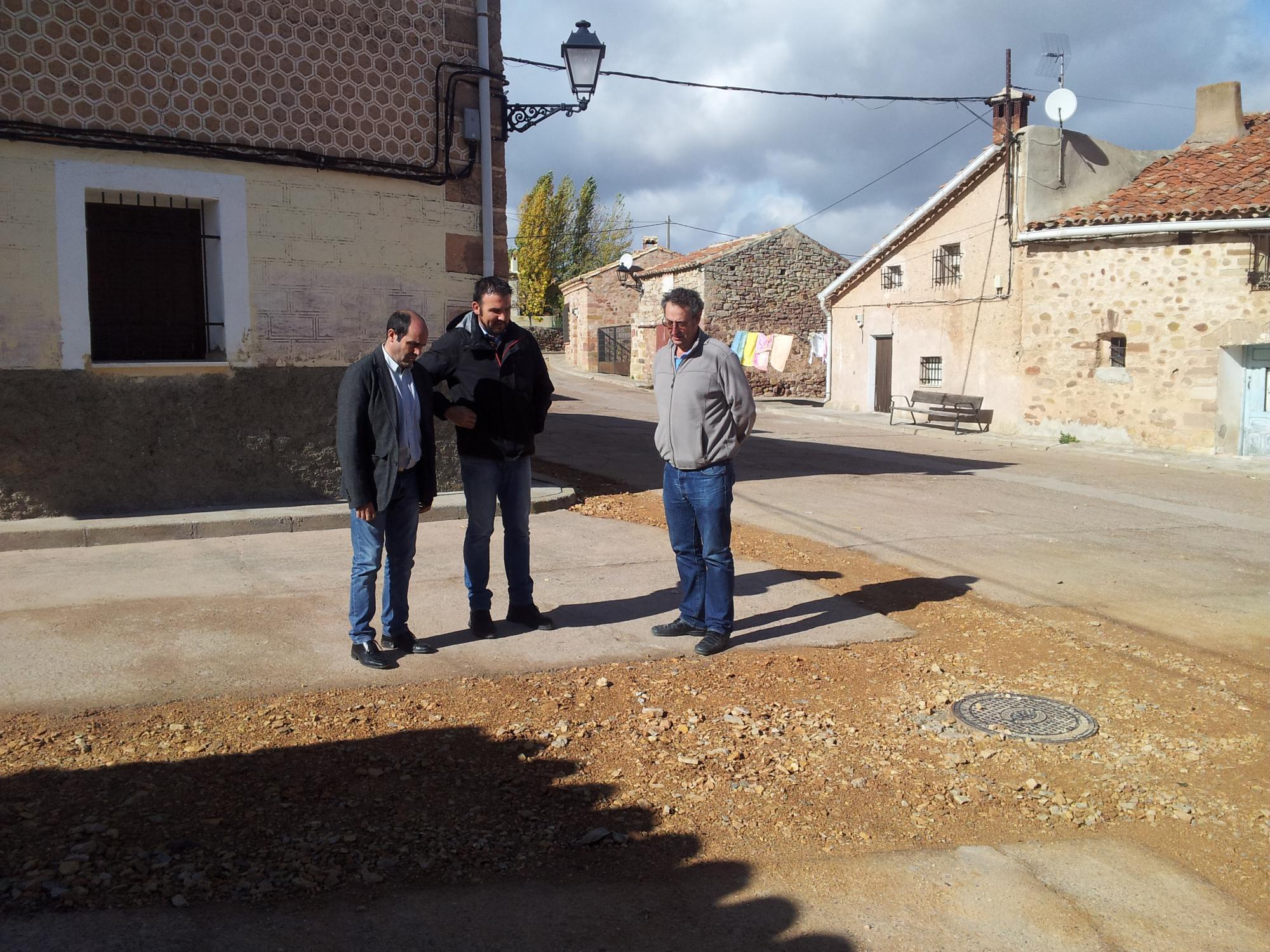 El plan de obras de la Diputación permite mejorar el abastecimiento de agua en varios municipios