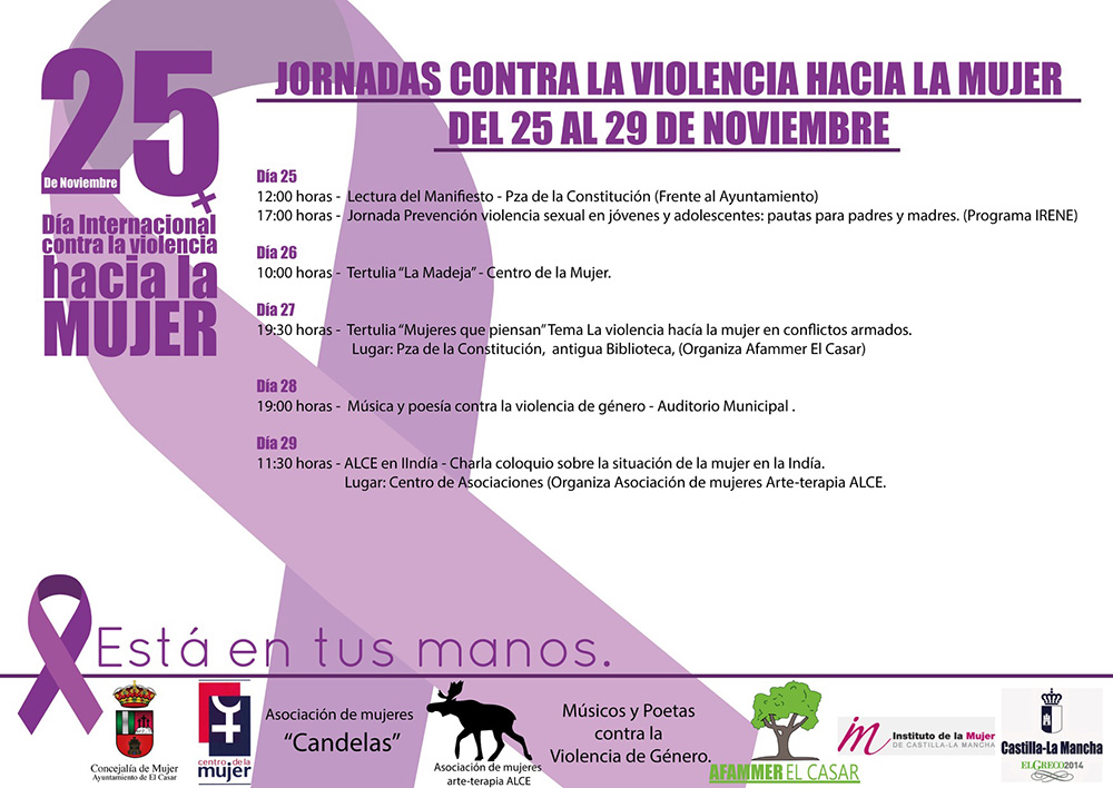 """El Casar """"suma"""" contra la Violencia de Género"""