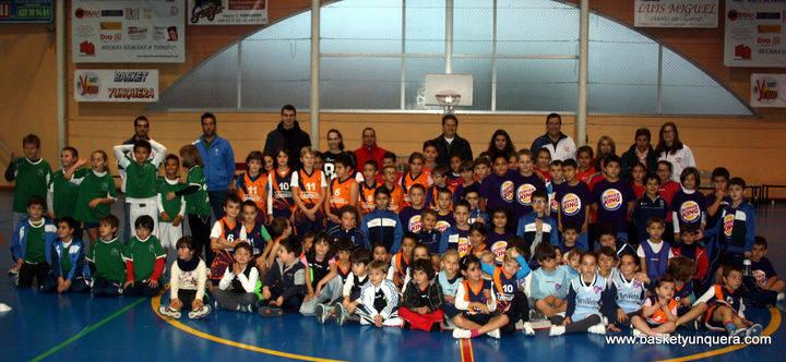 Espectacular inicio de la III Liga de Baloncesto Benjamín y Prebenjamín 'Dama de la Campiña