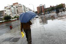 Notable descenso de las temperaturas y lluvias este viernes en Guadalajara que está en alerta amarilla por viento
