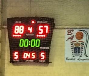Primera victoria del nuevo proyecto de Basket Azuqueca