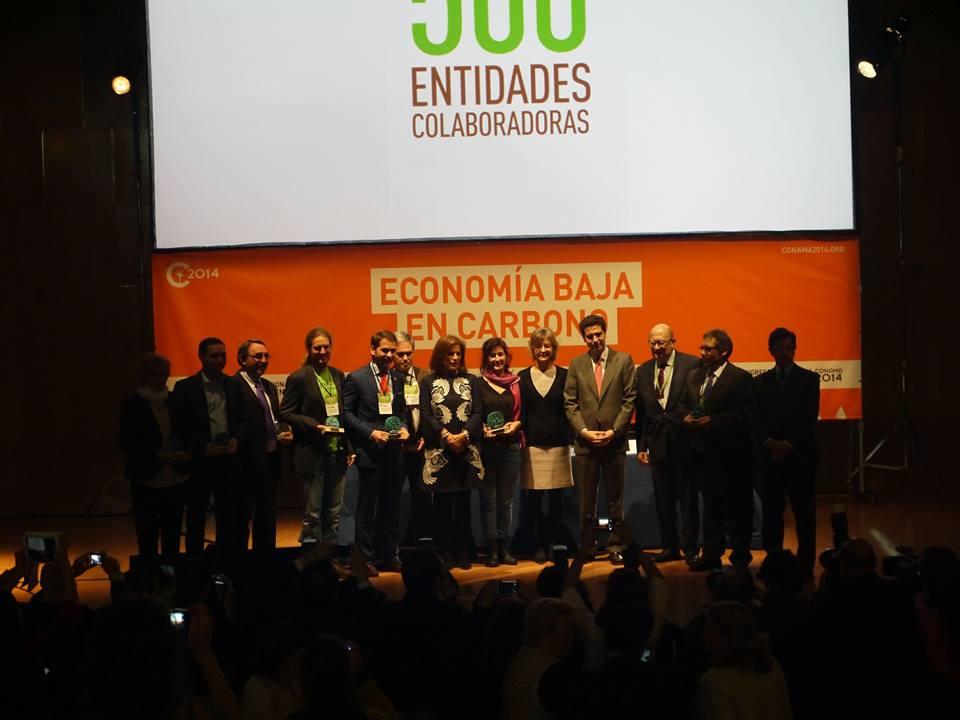 La labor de la Asociación Micorriza, reconocida en el Conama 2014