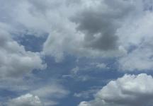 Tiempo revuelto este martes en Guadalajara con nubes, ratos de sol y chubascos aislados por la tarde