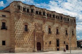Cientos de personas anónimas han abrazado el Palacio del Infantado
