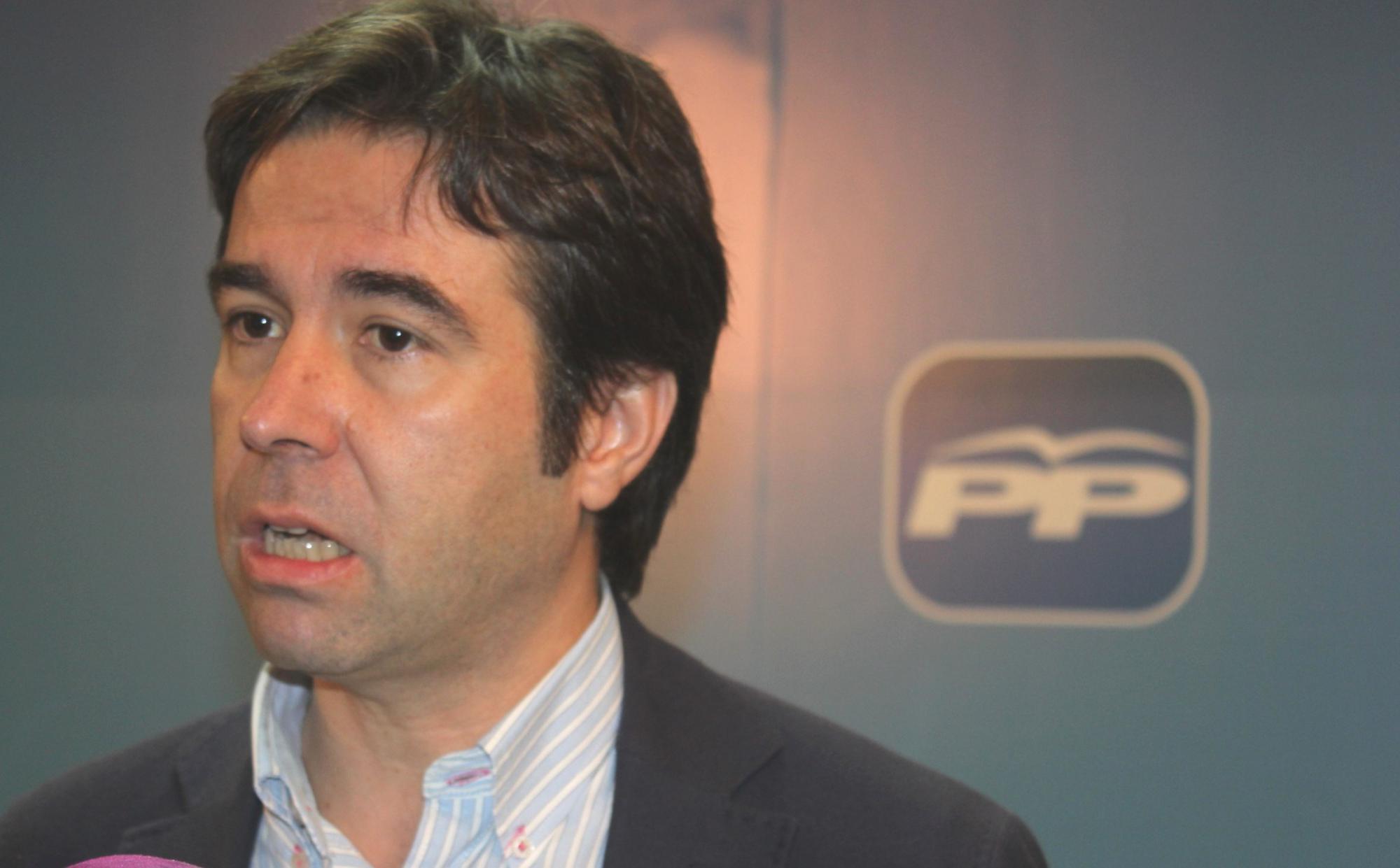"""Robisco: """"Guadalajara no conoce a Page porque Page no quiso conocer Guadalajara cuando gobernaba y esta provincia no existía ni para él ni para el gobierno del PSOE"""""""
