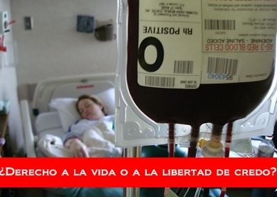 Un juez de Guadalajara respalda la decisión de un testigo de Jehová de negarse a recibir una transfusión de sangre