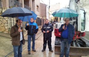 La Diputación financia la mejora de calles y redes de agua en Baides, Matillas, Cendejas de la Torre y Tórtola