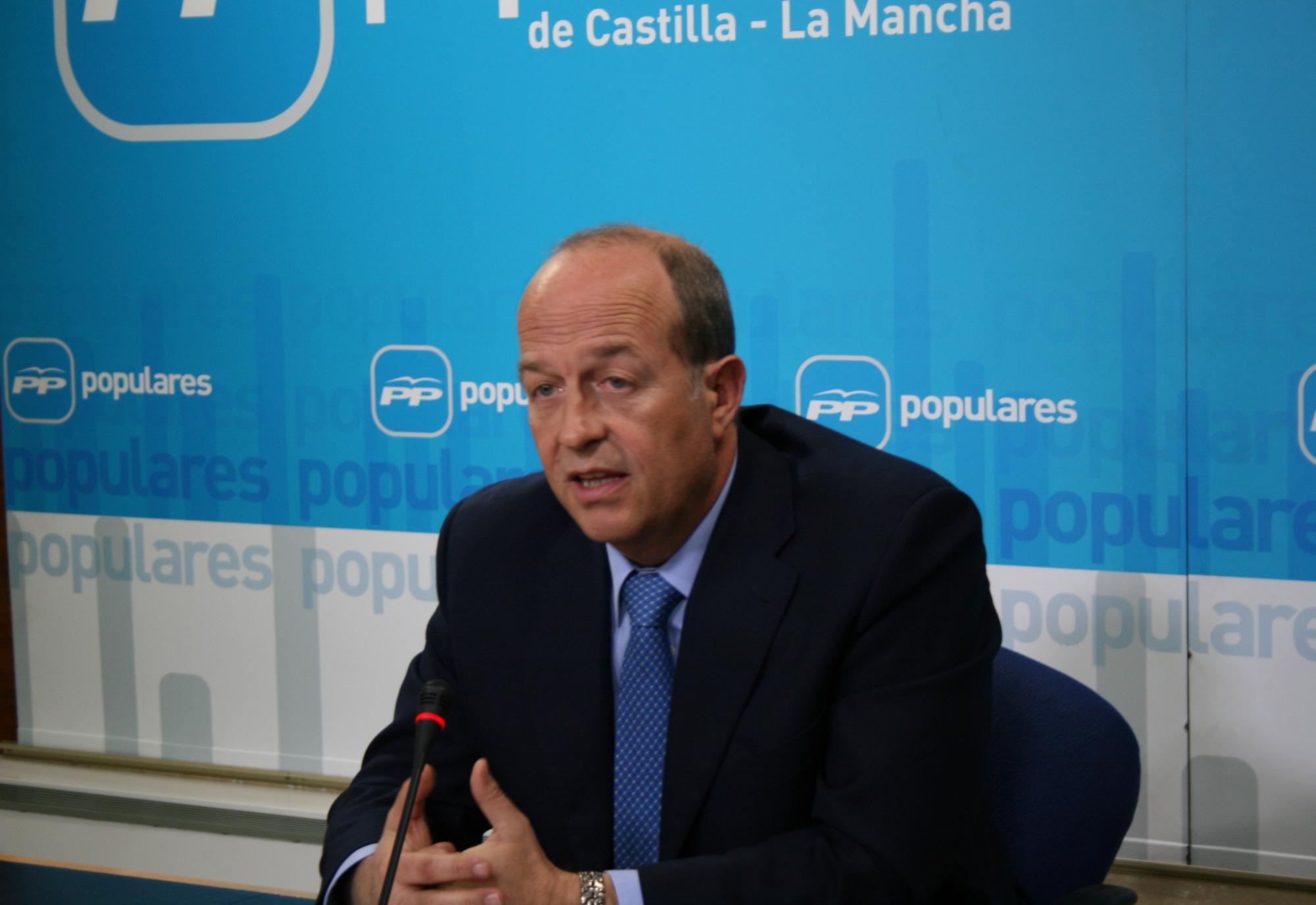 """Tortosa: """"Sorprende que el PSOE de Page se niegue a que Cospedal baje los impuestos a los ciudadanos"""""""