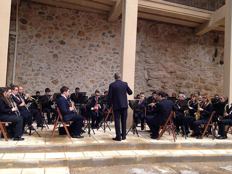 Este sábado, concierto de Santa Cecilia de la Banda de Música de Pastrana