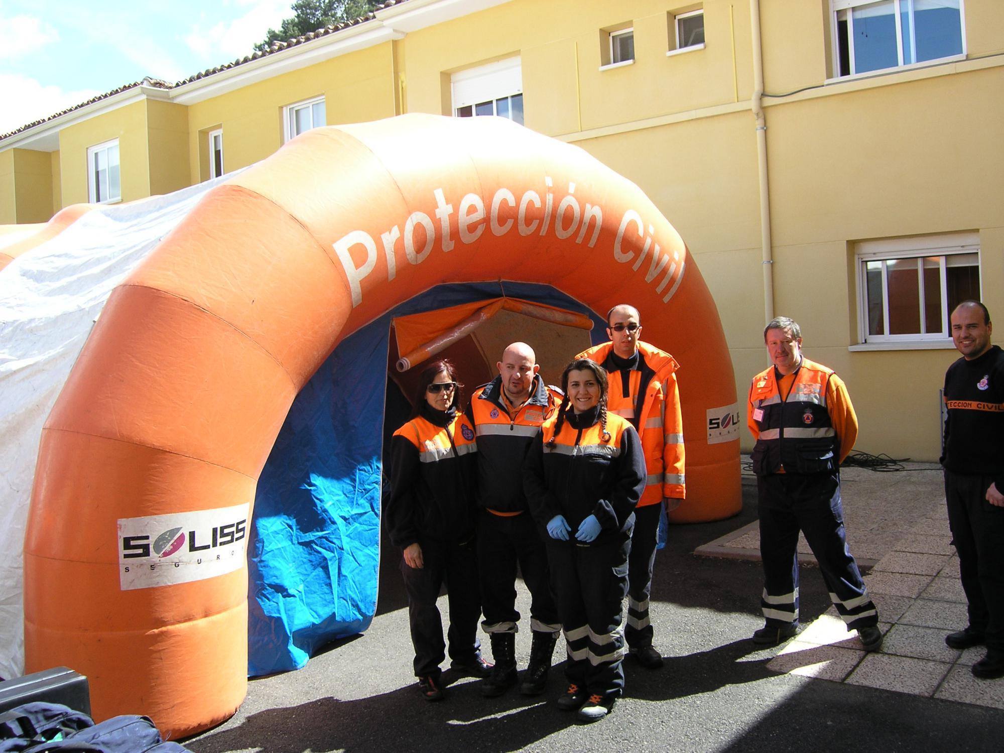Más de 250 voluntarios de Protección Civil incrementan su formación especializada