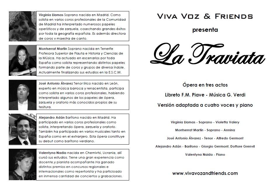 La ópera La Traviata podrá verse este domingo a partir de las 19.00 horas en la Casa de Cultura de Alovera