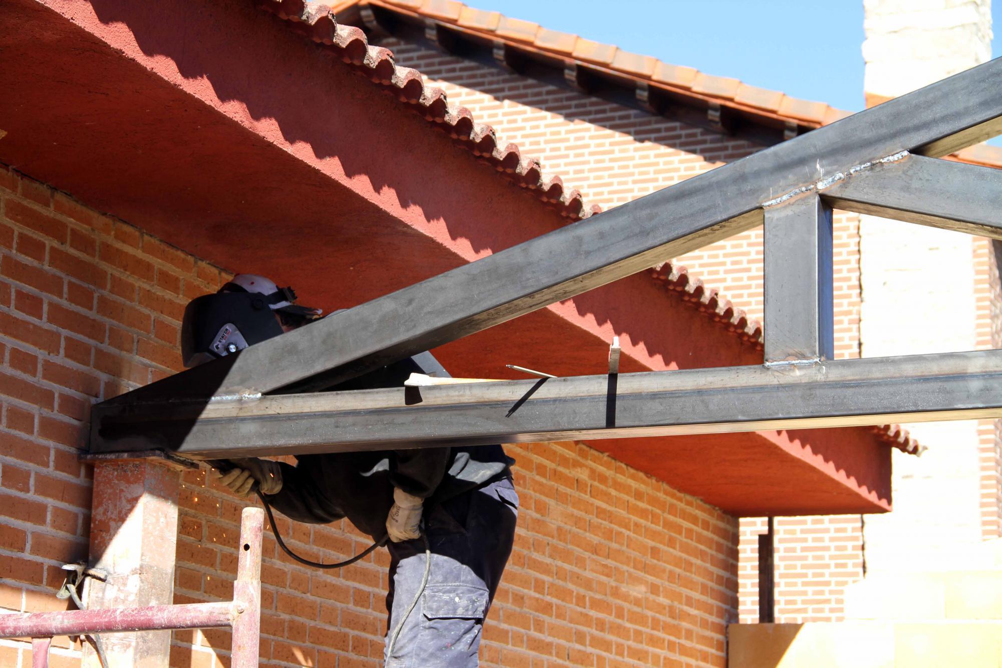 El Ayuntamiento de Tamajón ultima la construcción de un nuevo local municipal multiusos
