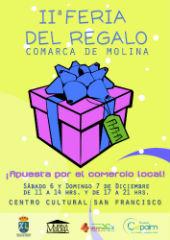 La II Feria del Regalo apuesta por una Navidad con productos de los comercios y artesanos del Geoparque de Molina