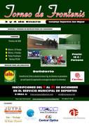 Abierta la inscripción en los torneos solidarios de Frontenis y Fútbol 7 de Azuqueca de Henares