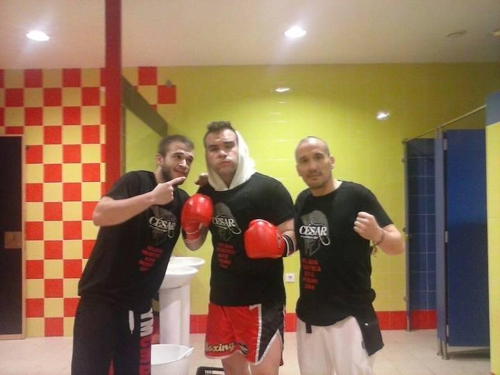 """Alvaro Milla, del FS Team Yunquera, se alza con el título de King Boxing en 70 kg. del III Torneo """"Los Conquistadores"""""""