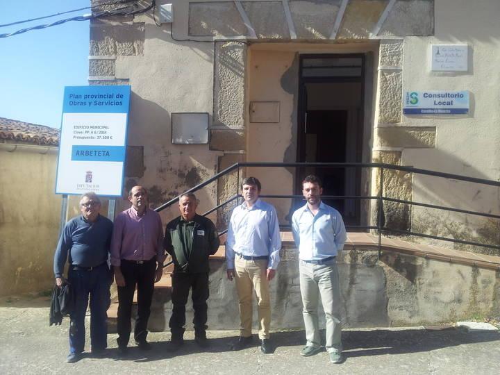 La Diputación ayuda a los pueblos a dotar a sus vecinos de mejores equipamientos públicos