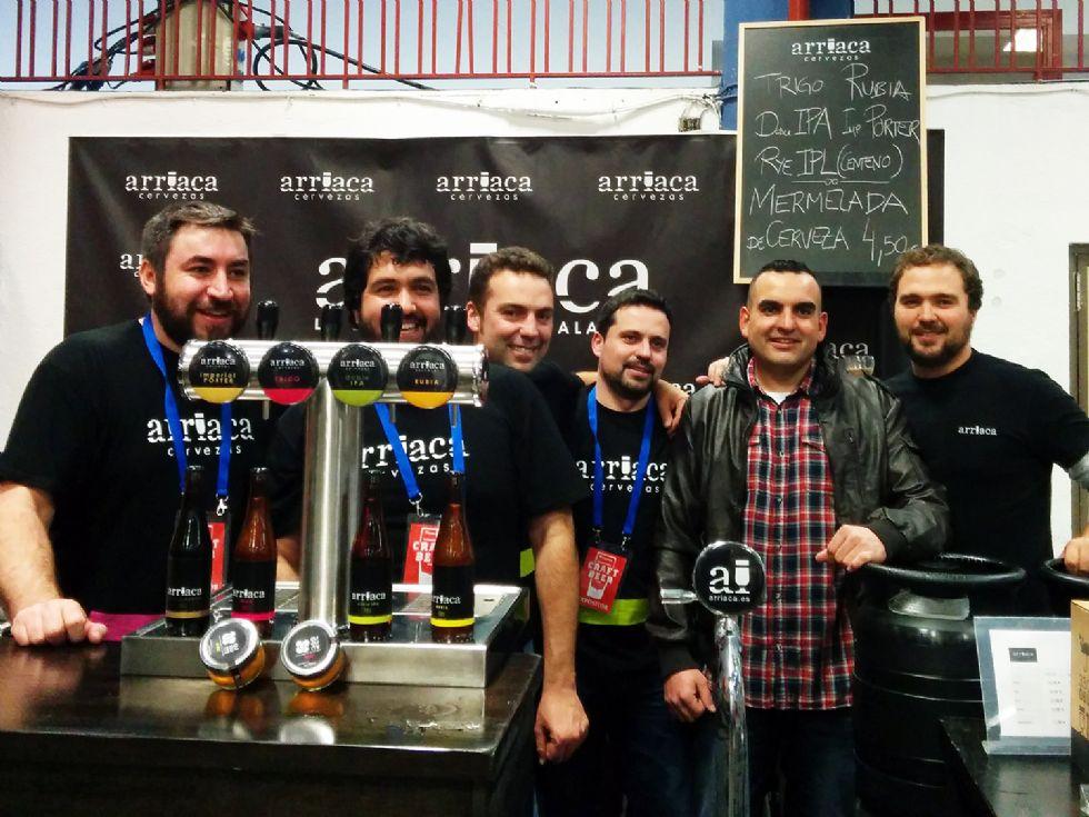 La cervecera guadalajareña Arriaca consigue el Primer Premio de la Feria Internacional Thielmann de la Cerveza Artesana de Madrid 2014