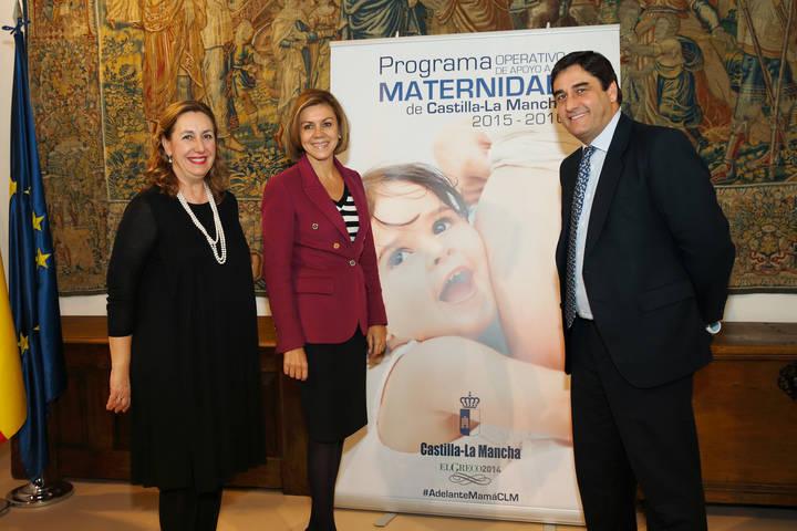 El Gobierno de Cospedal apoya a las embarazadas sin recursos para que se formen y tengan un futuro laboral