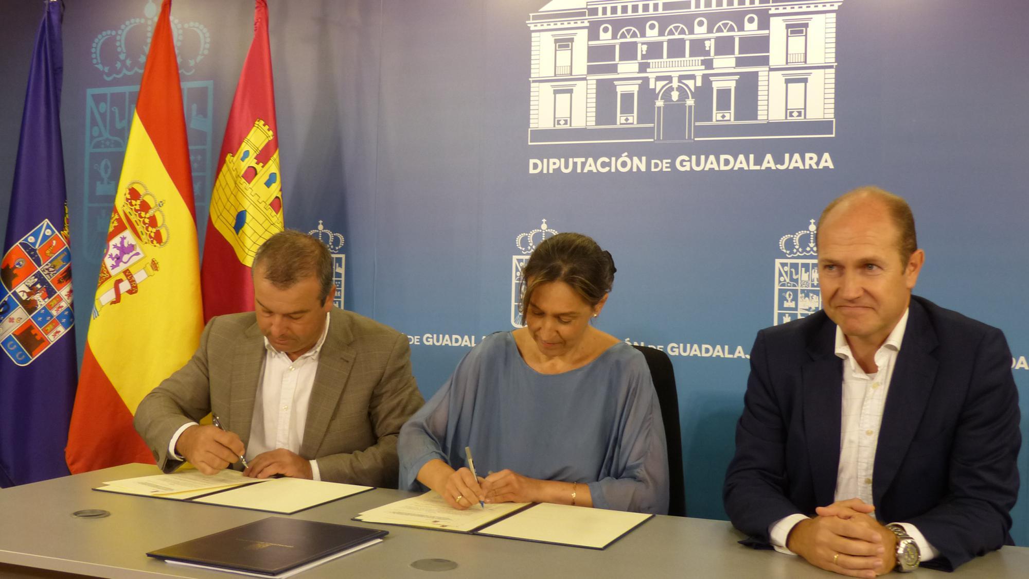 La Diputación colabora con el Club Deportivo Básico de Golf para el fomento de este deporte en la provincia