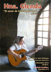 Concierto de la Hermana Glenda en San José Artesano de Guadalajara, el 12 de diciembre
