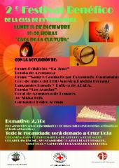 Esta tarde, Festival Benéfico solidario en Azuqueca de Henares a favor de Cruz Roja