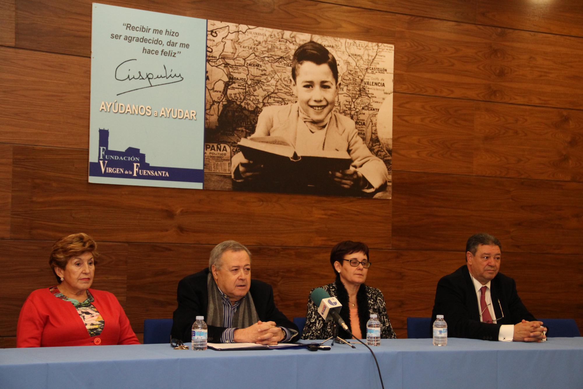La Fundación Virgen de la Fuensanta da comienzo a su obra social dirigida a los discapacitados físicos castellano-manchegos