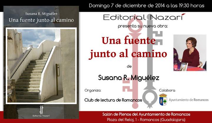 La autora Susana Rodríguez Miguélez presentará su libro en Romancos